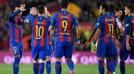 Barcelona gümbür gümbür: 6-1! (ÖZET)