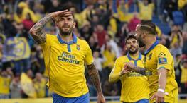 Las Palmas Osasuna'yı gole boğdu! (ÖZET)
