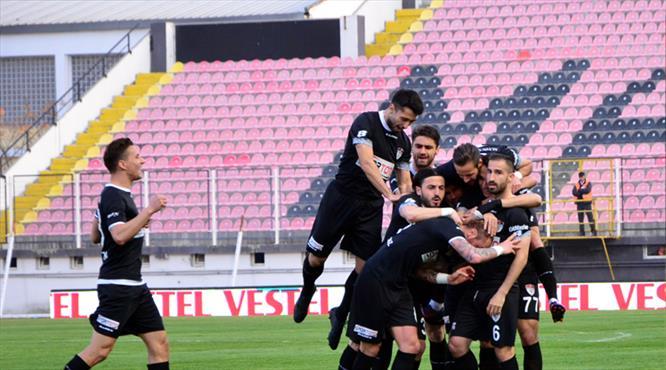Manisaspor gol oldu yağdı! 6-2!