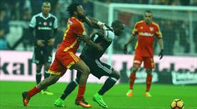 Beşiktaş - Kayserispor: 2-2 (ÖZET)