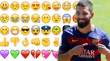 Arda Turan için ilginç emoji!