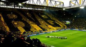 Daha önce kimse bunu yapmadı! Dortmund tribünleri yine büyüledi!