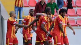 Kayserispor-Aytemiz Alanyaspor: 3-0 (ÖZET)