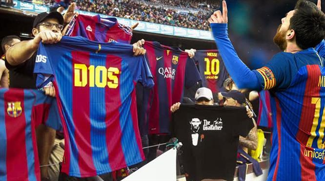 Camp Nou'da Messi akımı