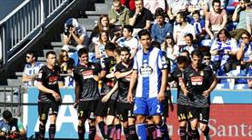 Deportivo fırsat tepti! (ÖZET)
