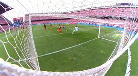Ne yaptın Torres! Vicente Calderon'a veda maçında müthiş gol!