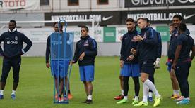 Trabzonspor, Fenerbahçe'ye hazırlanıyor