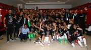 Beşiktaş'ın şampiyonluk coşkusu burada!