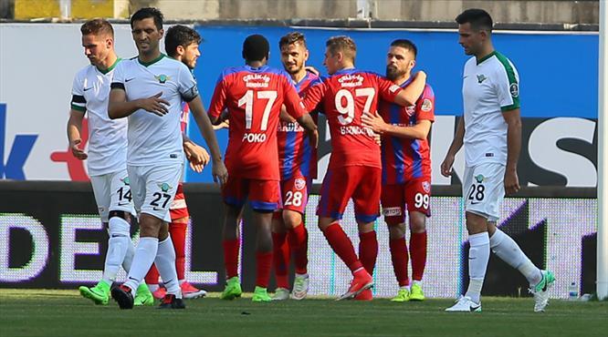 Akhisar Belediyespor: 2 - Kardemir Karabükspor: 3 (ÖZET)