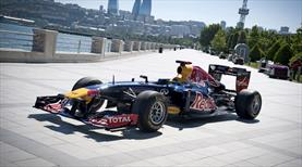 Bakü'de F1 heyecanı