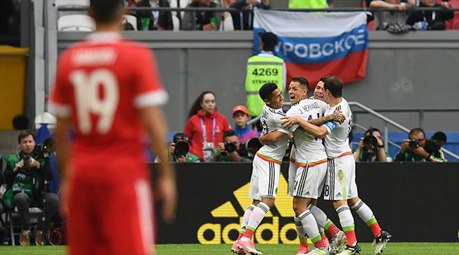 Ev sahibine şok! Meksika yarı finalde!