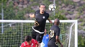 Osmanlıspor'dan gol şov