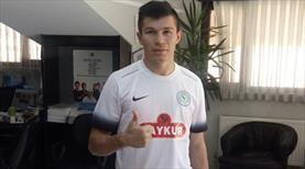 Rize'ye Paraguaylı golcü