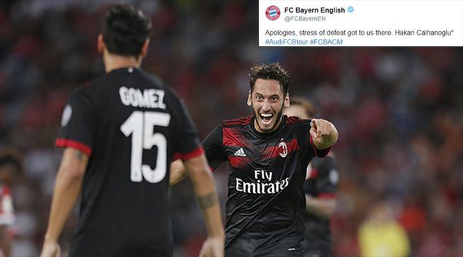 Bayern Münih'ten 'Hakan Çalhanoğlu' özrü