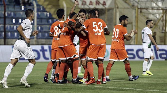 Adanaspor-Denizlispor: 3-0 (ÖZET)