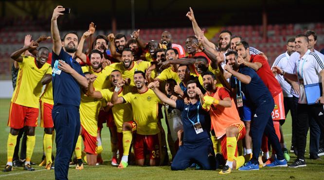 Yeni Malatyaspor'dan tarihi galibiyet