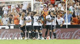 Zaza Valencia'yı sırtladı! (ÖZET)