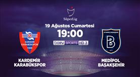 Kardemir Karabükspor - Medipol Başakşehir