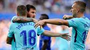 Messi sezonu dubleyle açtı! (ÖZET)