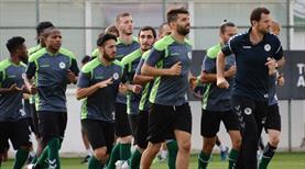 Konya'da Beşiktaş hazırlıkları