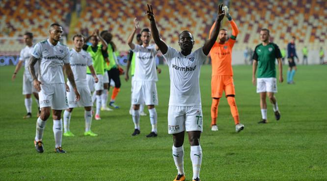 Evkur Yeni Malatyaspor-Bursaspor: 2-4 (ÖZET)