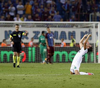 Trabzonspor - Aytemiz Alanyaspor: 3-4 (ÖZET)