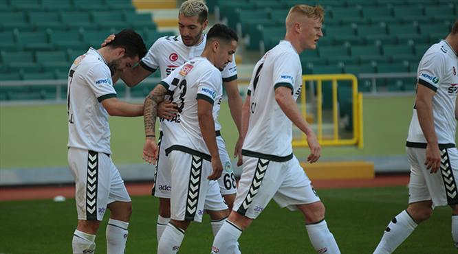 Atiker Konyaspor - TM Akhisarspor: 2-0 (ÖZET)