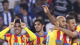 Bu maçta yok yok! 5 gollü kapışma Valencia'nın (ÖZET)