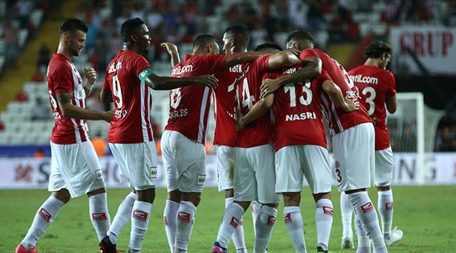 Antalyaspor - Osmanlıspor: 3-0 (ÖZET)