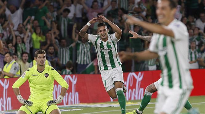 Real Betis Levante'yi parçaladı (ÖZET)