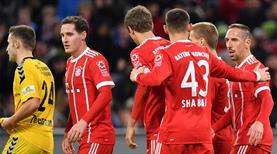 Bayern 5 attı, Ribery şov yaptı (ÖZET)