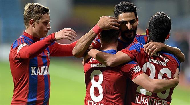 İşte Kardemir Karabükspor'un ilk yarıda attığı goller