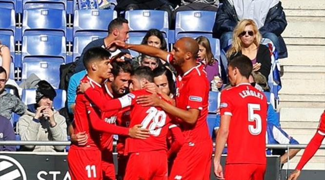 Sevilla hayata gol şovla döndü (ÖZET)