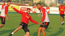 Göztepe'de Beşiktaş mesaisi başladı!