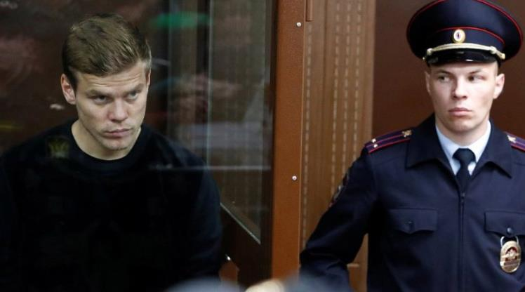 Rus futbolcular tutuklandı