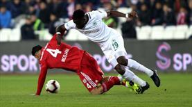 Demir Grup Sivasspor - Atiker Konyaspor: 0-0 (ÖZET)