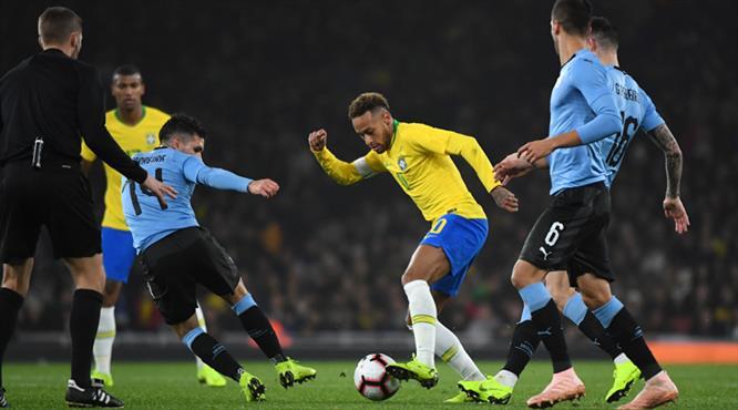 Neymar'dan tek kişilik samba (ÖZET)