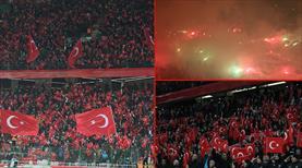 Konya'da her yer kırmızı-beyaz (GALERİ)