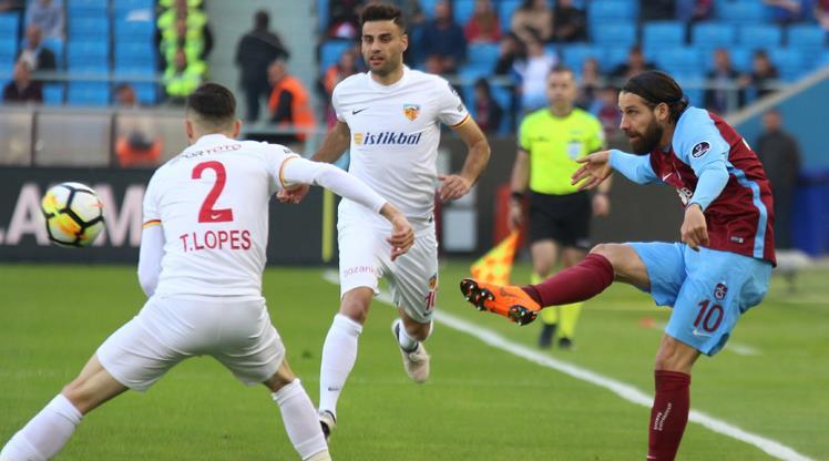 Trabzon: 25 - Kayseri: 7