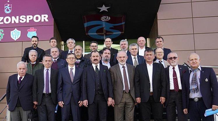 Trabzonspor'da mazbata töreni yapıldı!