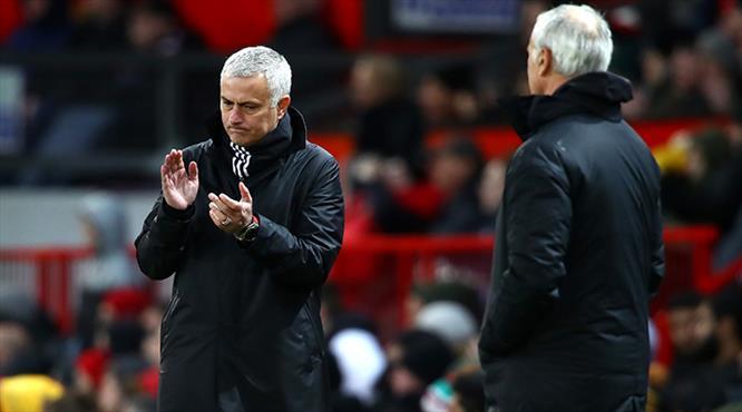 Mourinho Ranieri'ye 4 golle 'Hoşgeldin' dedi (ÖZET)