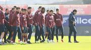 Trabzonspor tam kadro çalıştı