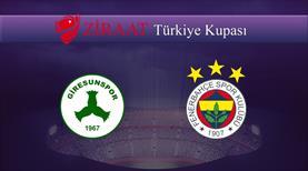 Giresunspor - Fenerbahçe
