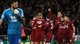 Salah ve Liverpool şova devam ediyor (ÖZET)