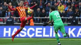 Kayserispor - Demir Grup Sivasspor: 1-1 (ÖZET)
