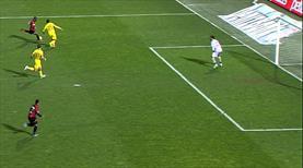 Gol perdesi böyle kapandı