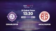 Osmanlıspor - Antalyaspor
