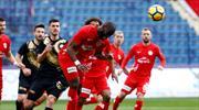 Osmanlıspor - Antalyaspor: 0-0 (ÖZET)
