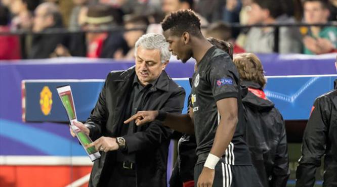 ManU'da işler karıştı! Mourinho ile Pogba'dan gergin toplantı!