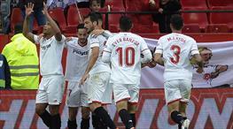 Sevilla'ya 5 dakika yetti (ÖZET)